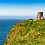 castle in Ireland with sea view