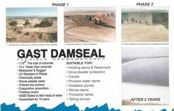 GAST damseal