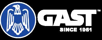 GAST Logo White