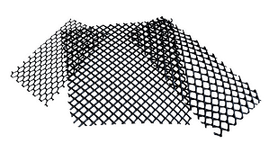 geogrids close-up