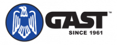 GAST logo black with clear background